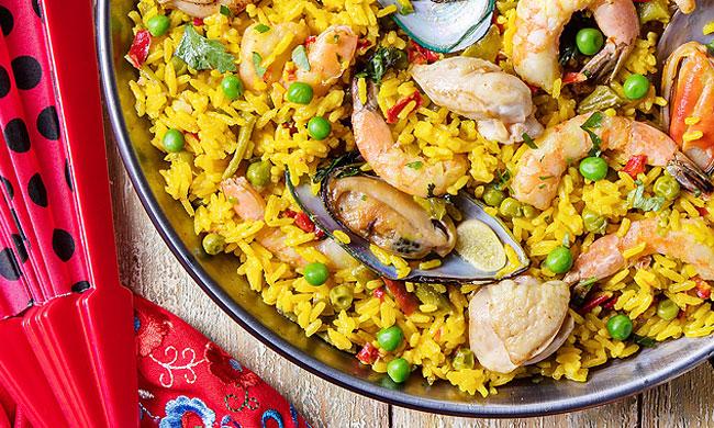 3 receitas de Arroz à Valenciana para comer e chorar por mais