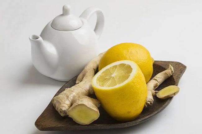 limão com gengibre