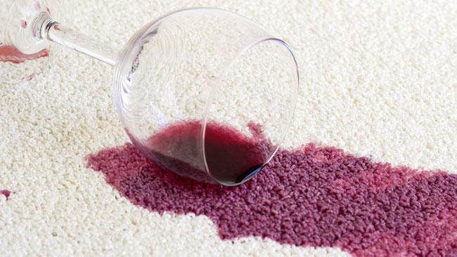 nódoas de vinho tinto