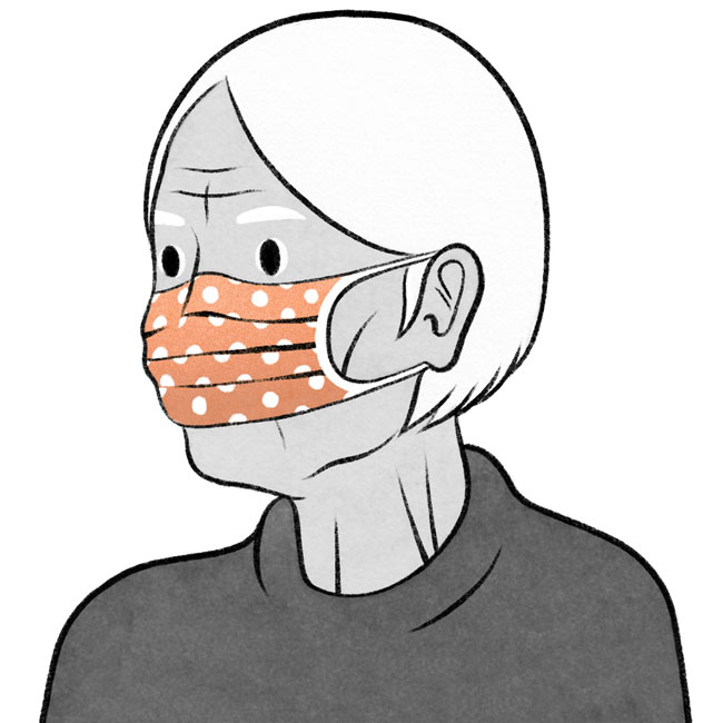 erros que muitos cometem quando usam máscara