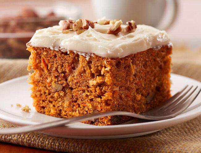 6 receitas de bolo de cenoura