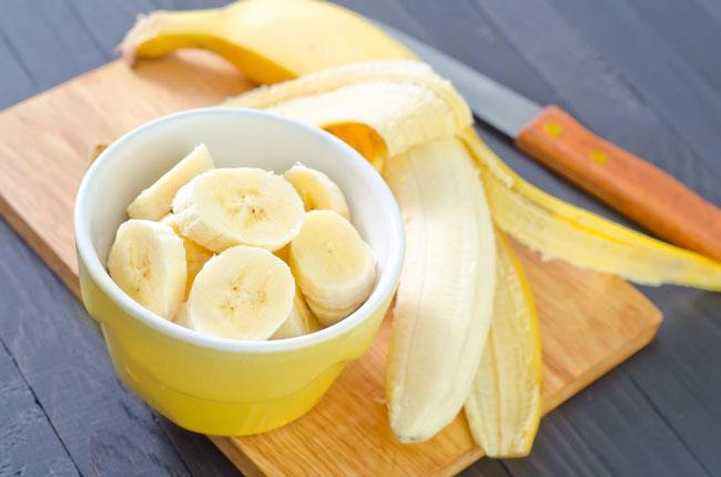 comer 2 bananas por dia