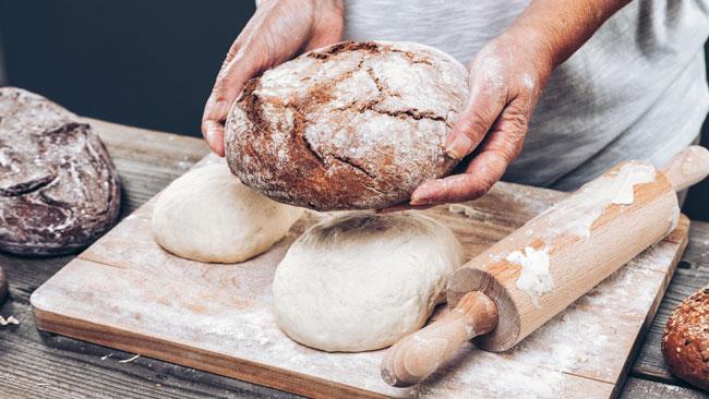 benefícios surpreendentes do pão
