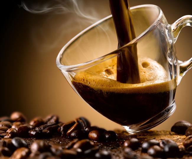 Beba café sem açúcar