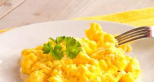 fazer os ovos mexidos perfeitos