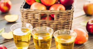 beber vinagre de maçã de estômago vazio