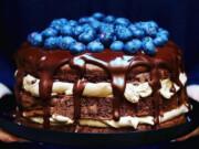 bolo de chocolate muito fofinho