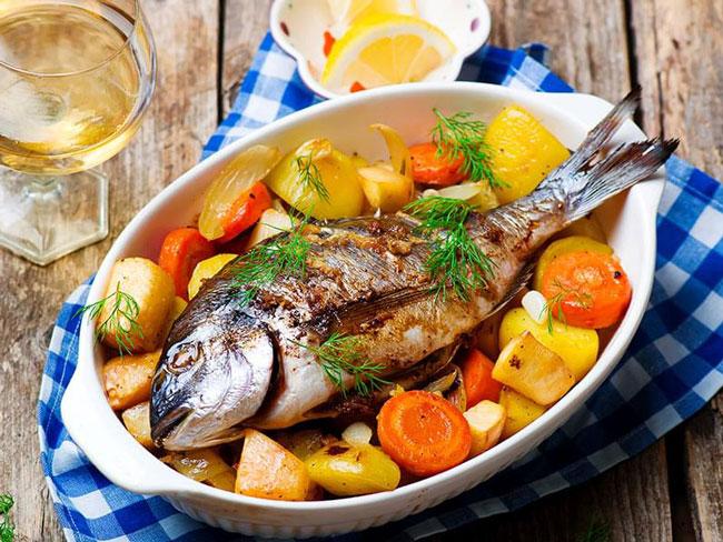 dicas para assar carnes e peixes