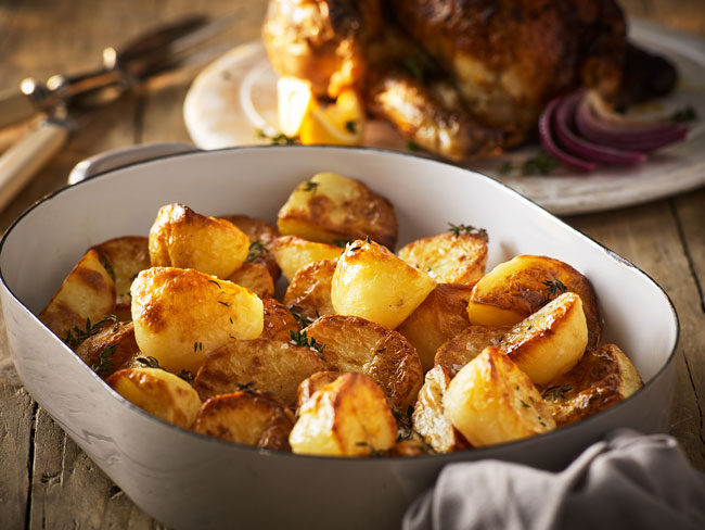Como assar batatas na perfeição