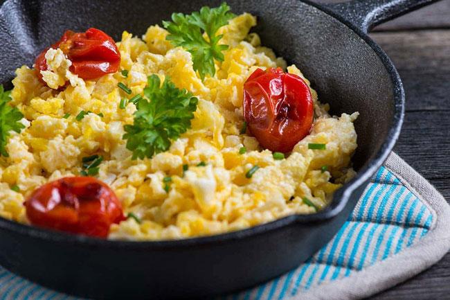 melhores ovos mexidos do planeta