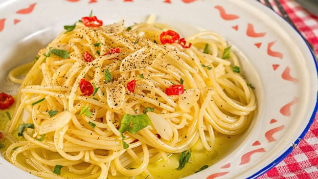 5 das melhores receitas com esparguete