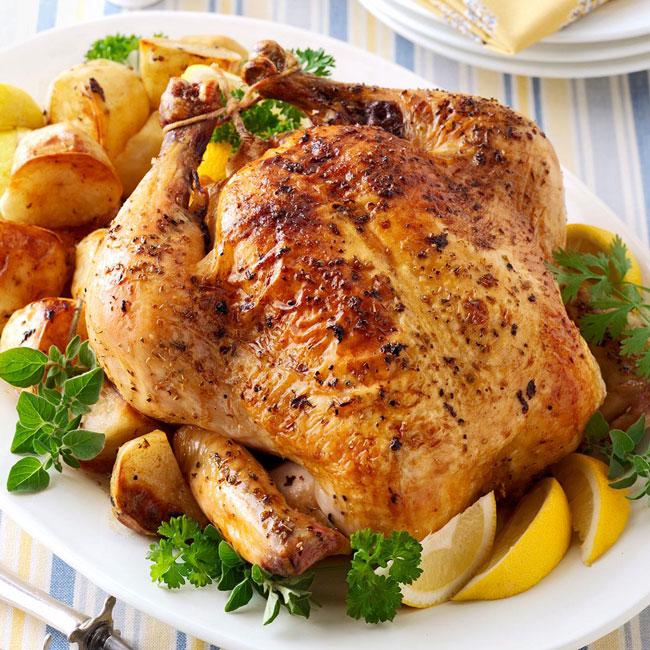 temperar frango para assar