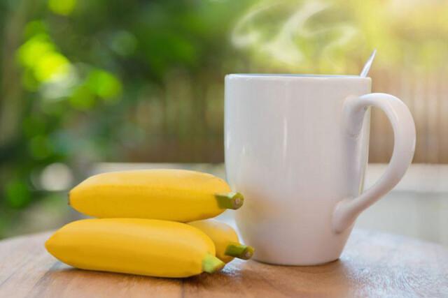 Banana e canela