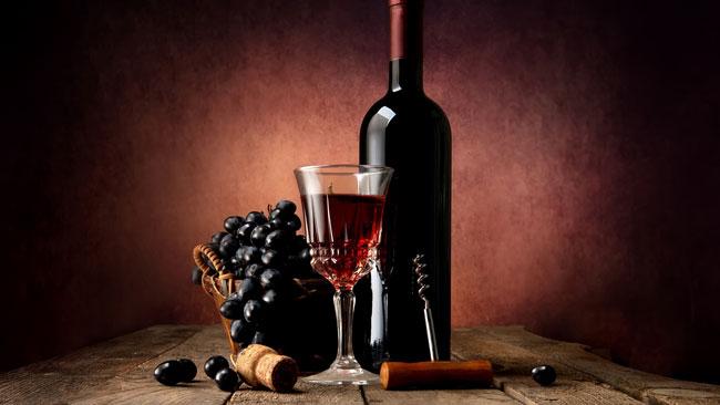 beber vinho tinto regularmente