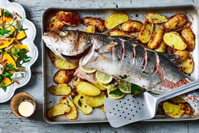 fazer peixe assado como nos restaurantes