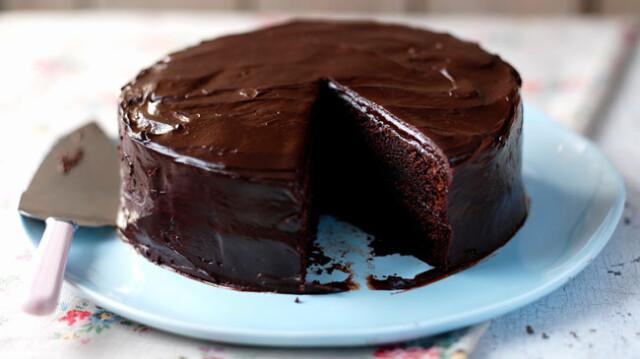 receitas de bolo de chocolate húmido