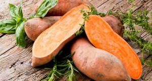 razões para comer batata doce