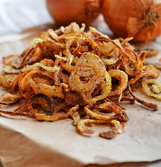 fazer cebola frita crocante