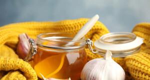 comer mel e alho