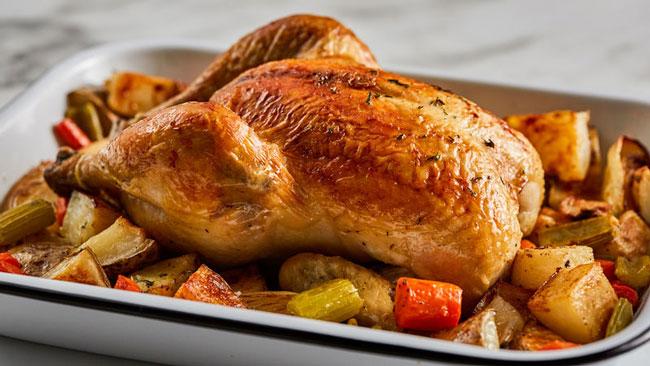 Como fazer frango assado crocante