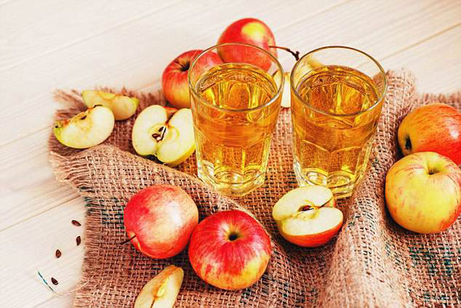 vinagre de maçã antes de dormir faz bem