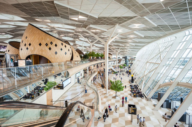mais bonitos aeroportos do mundo
