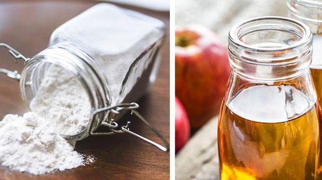 riscos e benefícios do bicarbonato de sódio e vinagre de maçã