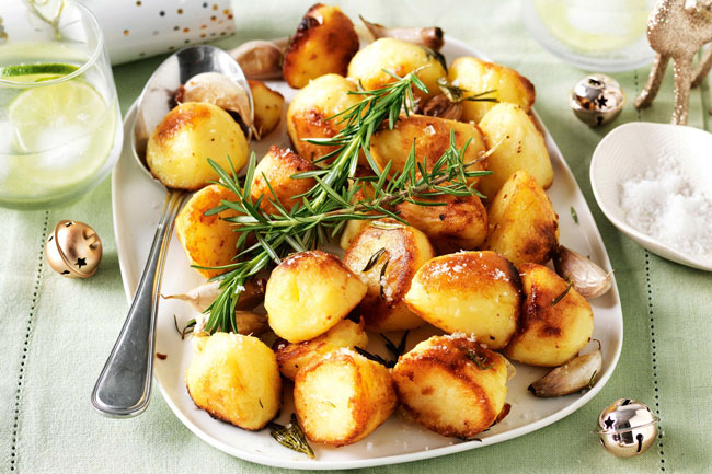 batatas pequenas assadas no forno