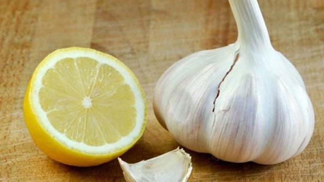 alho e limão