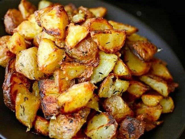 fazer batatas assadas