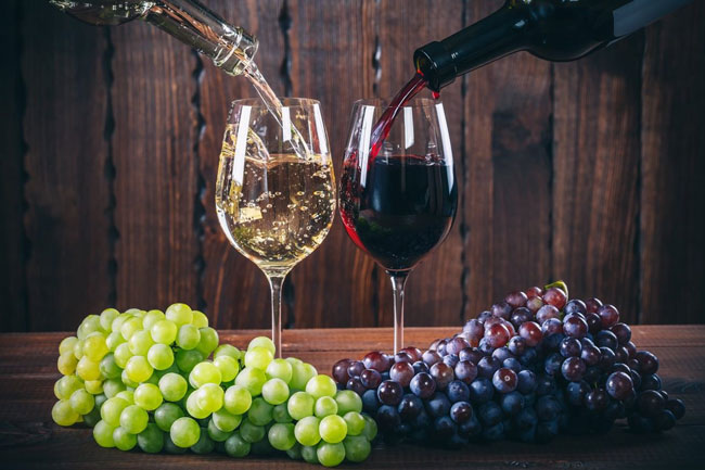servir vinhos corretamente