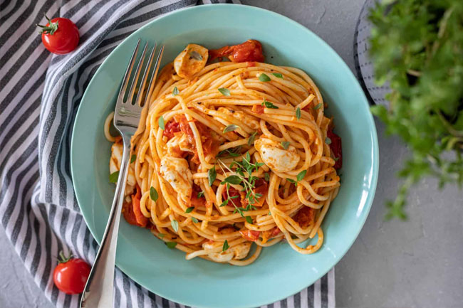 fazer esparguete como um Chef