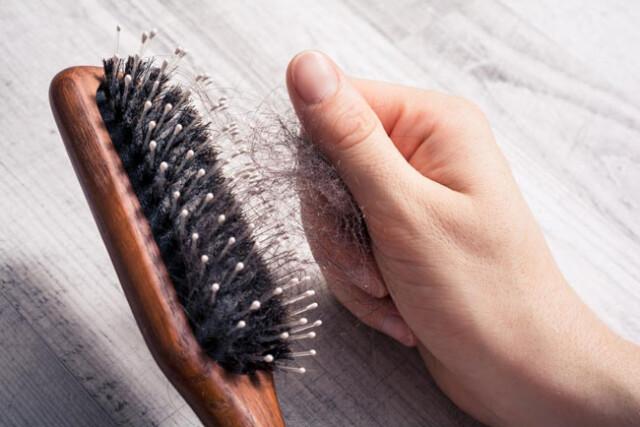 a queda de cabelo