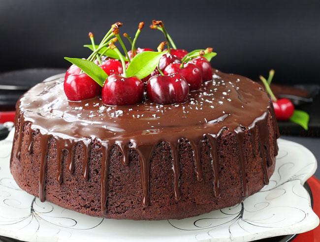 Receitas de bolo de chocolate simples