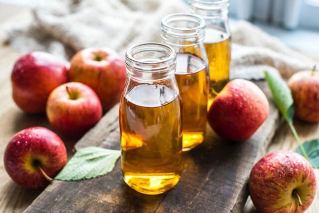 vinagre de maçã de estômago vazio