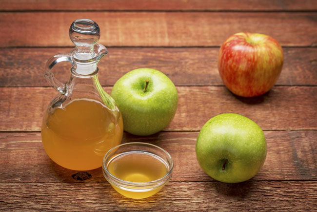 beber vinagre de maçã antes de dormir