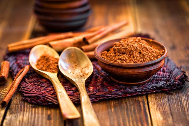 canela reduz o apetite e controla a diabetes