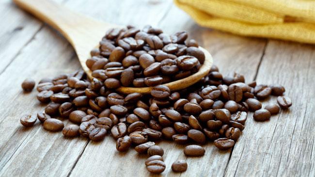 alimentos com mais cafeína