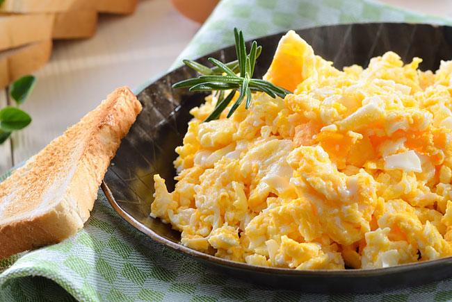 4 receitas de ovos mexidos deliciosas e rápidas