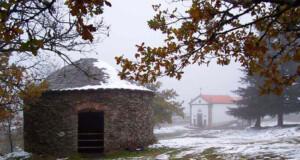 a aldeia de Santo António das Neves
