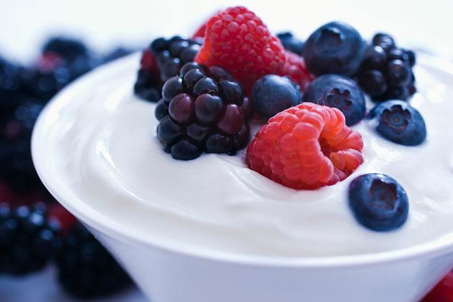 comer um iogurte todos os dias