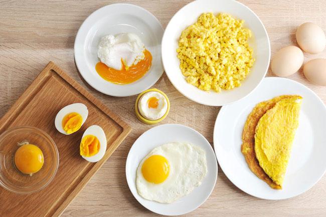 estes erros comuns ao cozinhar ovos