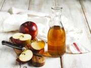 Uma colher de vinagre de maçã por dia
