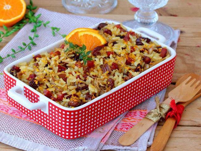 receitas de arroz de pato no forno