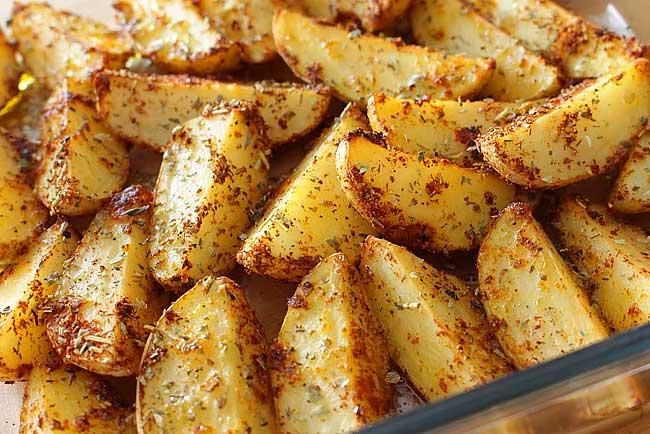 batatas assadas que sempre desejou fazer