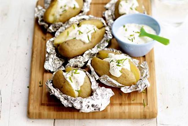 melhores batatas assadas no forno
