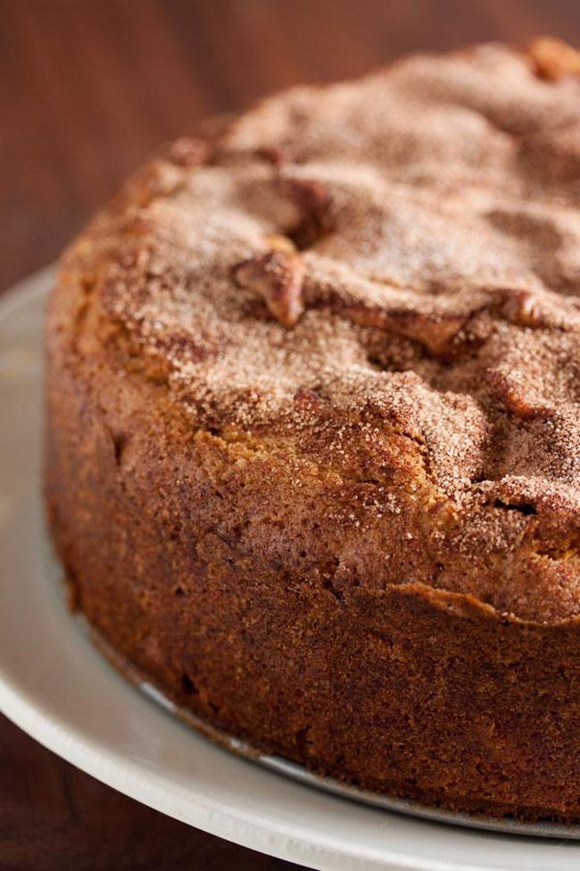 receitas de bolo de maçã e aveia