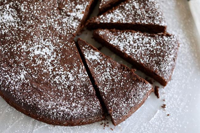 bolo de chocolate caseiro