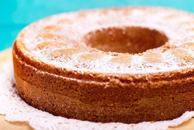 bolo de iogurte com aveia