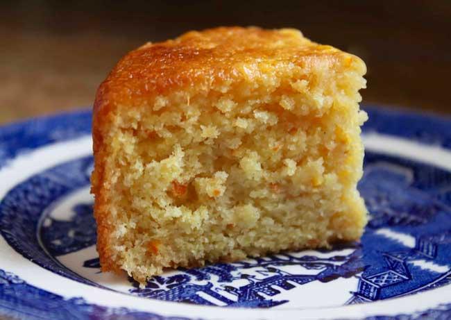 bolo de laranja fofinho